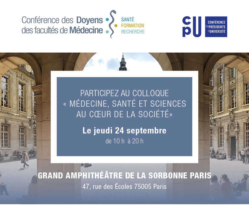 Inscription Colloque  Sorbonne le 24 septembre 2020